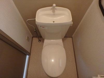 【トイレ】サンビレッジラポール