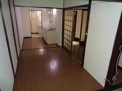 【居間・リビング】南田辺5丁目貸家