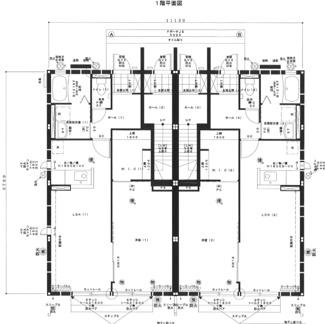 【間取り】54658 岐阜市鷺山東アパート