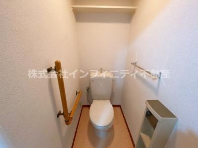 【トイレ】レオン住道