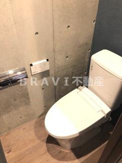 【ミュー西心斎橋】シンプルで使いやすいトイレです