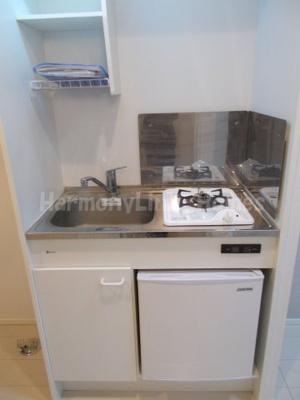 Arendelleのコンパクトなキッチンで掃除もラクラク