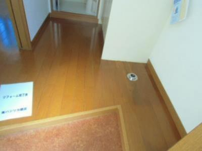 ライフピアフォンテーヌのシンプルで使いやすい玄関です