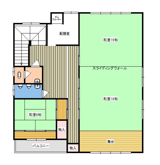 【間取り】二俣尾住居付店舗