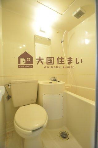 【浴室】大国町エンビィハイツ