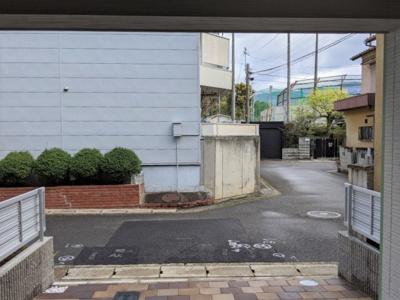 【前面道路含む現地写真】京都市山科区御陵進藤町