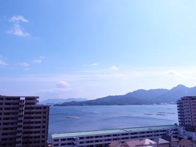 はい、写真じゃよく分かりません。 宮島さんには寝観音様がいらっしゃって、現地から見るとご納得して頂けます!!