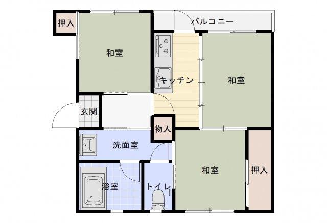 神陵台厚生年金住宅 5号棟