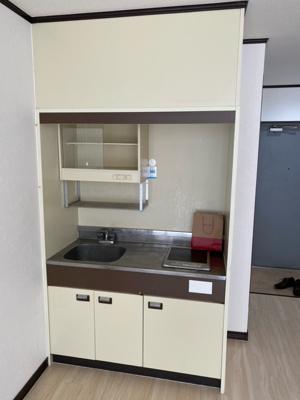 【キッチン】ピースフルマンション