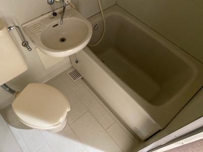 【浴室】ピースフルマンション