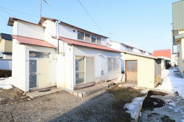 【外観】帯広市西16条南5丁目6棟借家