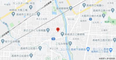 【地図】川端貸家 (株)Roots