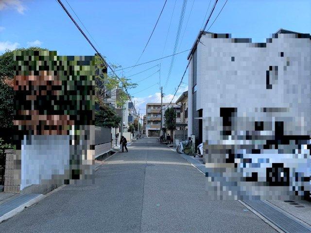 【前面道路含む現地写真】PLAISIR甲子園 A号地