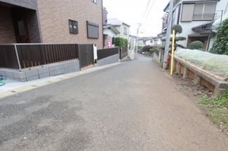 千葉市中央区今井町 新築一戸建  蘇我駅 車通りの少ない生活道路です♪