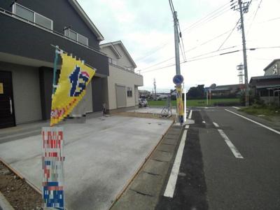 【前面道路含む現地写真】豊山町豊場7期