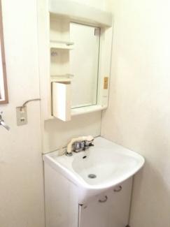 シャワー付き洗面化粧台