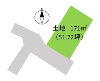 【土地図】高崎市剣崎町 売地