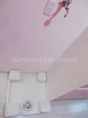 サークルハウス上板橋の室内洗濯機置場☆