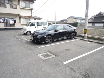 【駐車場】コーポサンフラワー B
