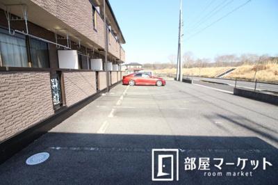【駐車場】リバーサイド神ノ木