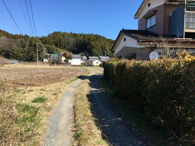 【前面道路含む現地写真】山田町法田 売地