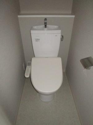 【トイレ】スプランディッド門真