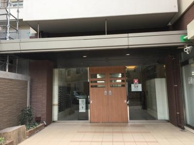 【エントランス】古河松原マンション