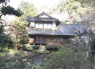【外観】鳥取市湯所一丁目中古戸建て