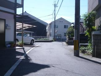 【前面道路含む現地写真】守山市吉身2丁目 中古戸建