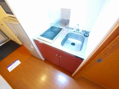 【キッチン】レオパレスコスモ