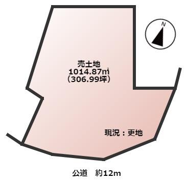 【土地図】大和高田市磯野南町 土地