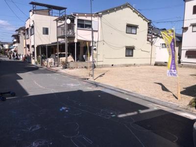 【前面道路含む現地写真】グラッド・タウン千石東町