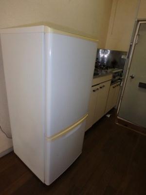 冷蔵庫付(残置物)。
