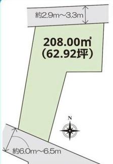 【土地図】高崎市岩鼻町 売地