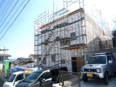 【外観】高知市加賀野井2丁目新築戸建(西)