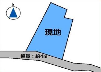 【土地図】高崎市石原町 売地
