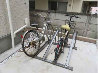 ハーモニーテラス今井の駐輪スペース☆