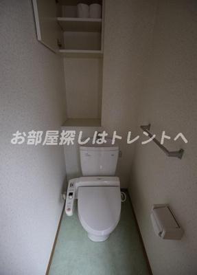 【トイレ】ラングタワー京橋