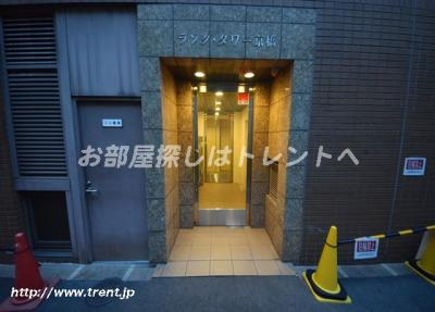 【エントランス】ラングタワー京橋