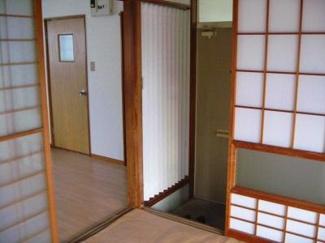 【居間・リビング】コーポ水野Ⅰ