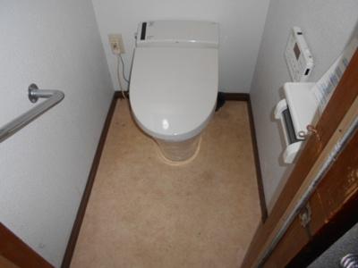 【トイレ】東近江市今町貸家