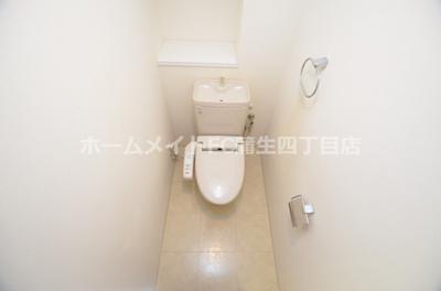 【トイレ】グランアッシュ野江