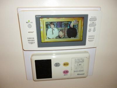浴室にTV付きでゆっくり入浴を楽しめます(^^♪