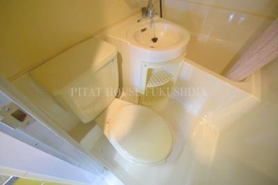 【トイレ】メロディーハイム中津2番館