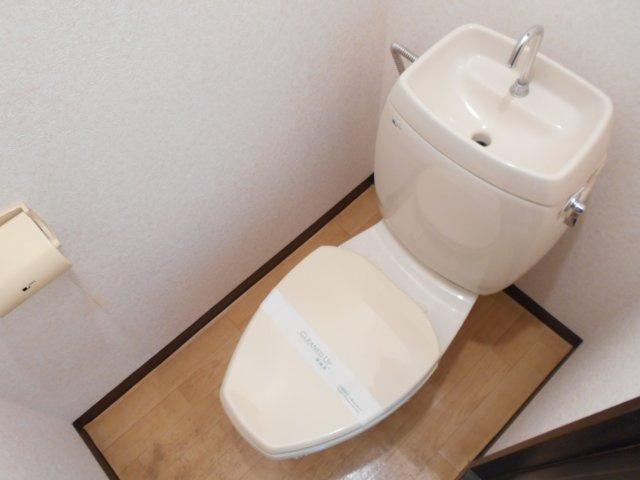【トイレ】ドルフ石井A棟