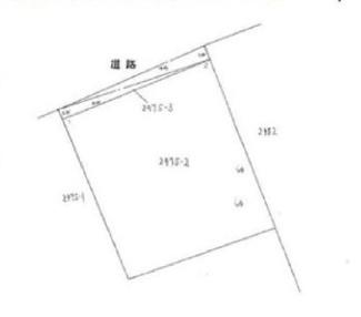 【土地図】安中市原市 売地