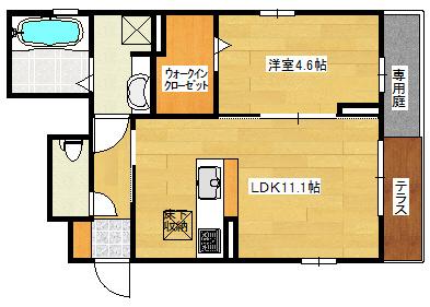 【駐車場】フォレストハイム矢賀