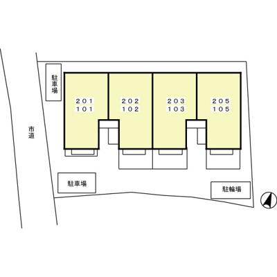 【区画図】プラムズ・ヴィラ