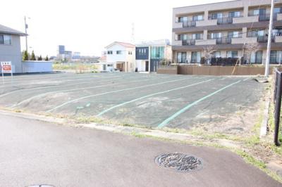 【前面道路含む現地写真】つくば市学園南三丁目39-3 B区画