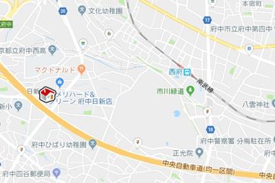 【地図】レオパレスO two(29250-202)